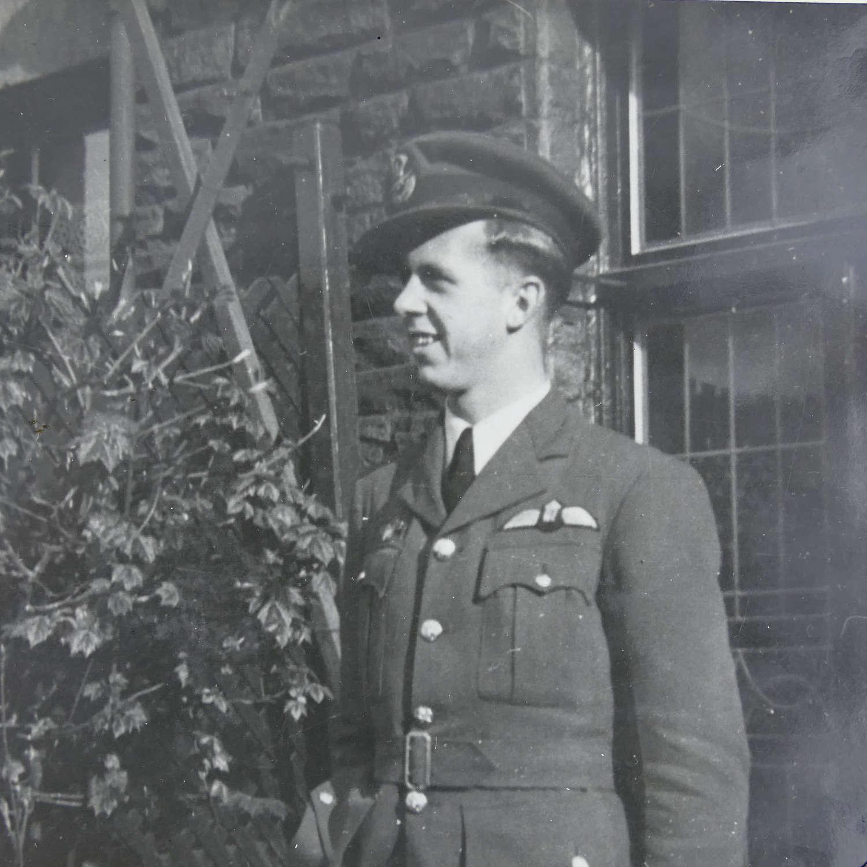 Photograph album with RAF content