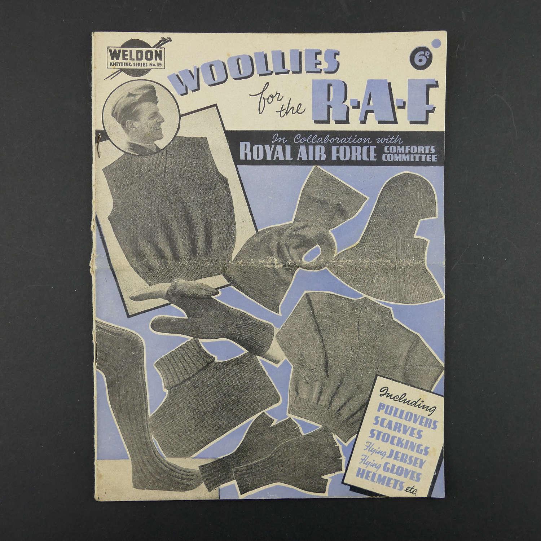 RAF comforts committee knitting pattern