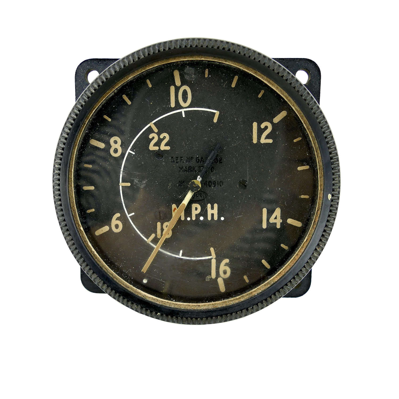 RAF MK.IX airspeed indicator