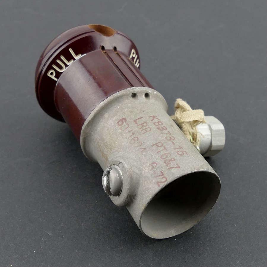 RAF Mae West CO2 cylinder operating head