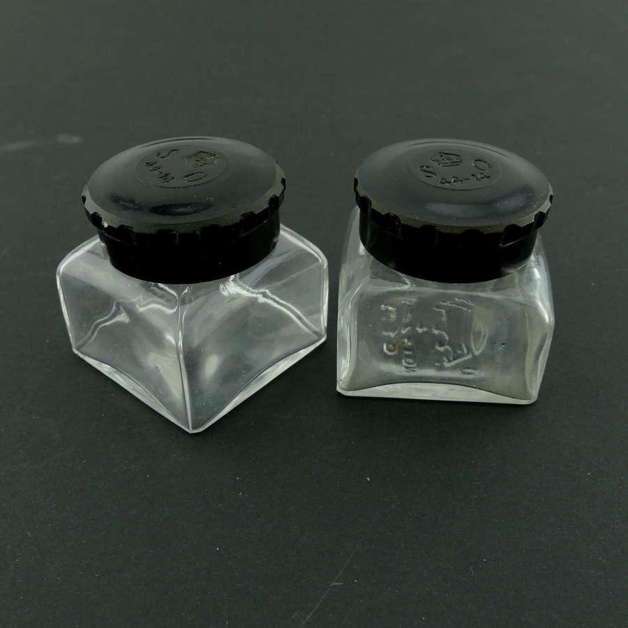 1930s Stationary Office ink bottles