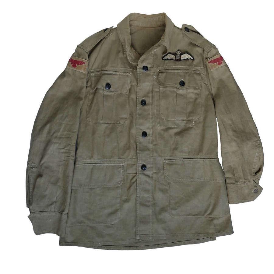 RAF pilot's bush shirt
