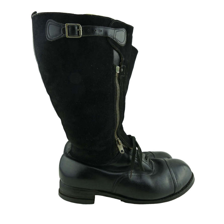 RAF 1943 pattern flying boots, S9/10