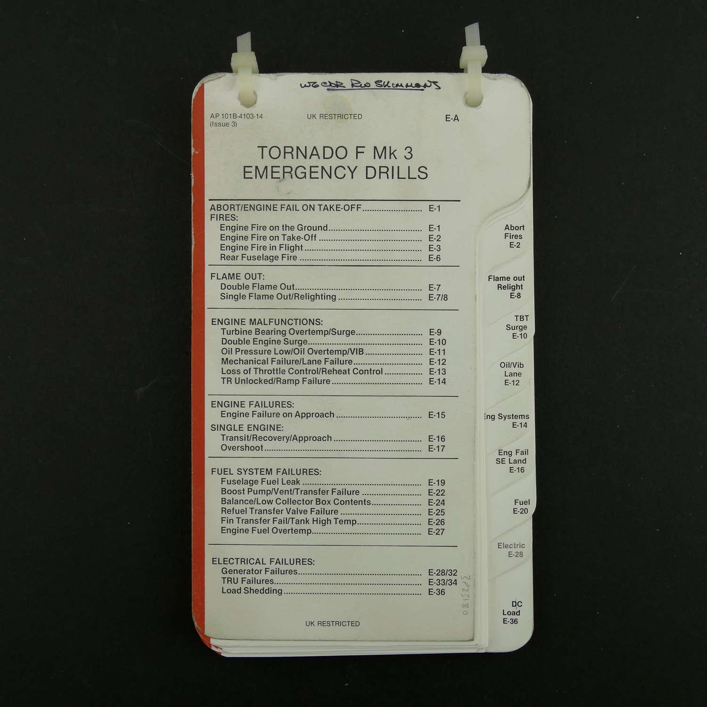 RAF flight reference cards - Tornado F MK.3, Emergencies