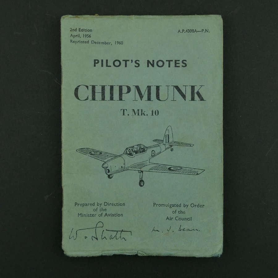 RAF Pilot's Notes - Chipmunk T. Mk.10