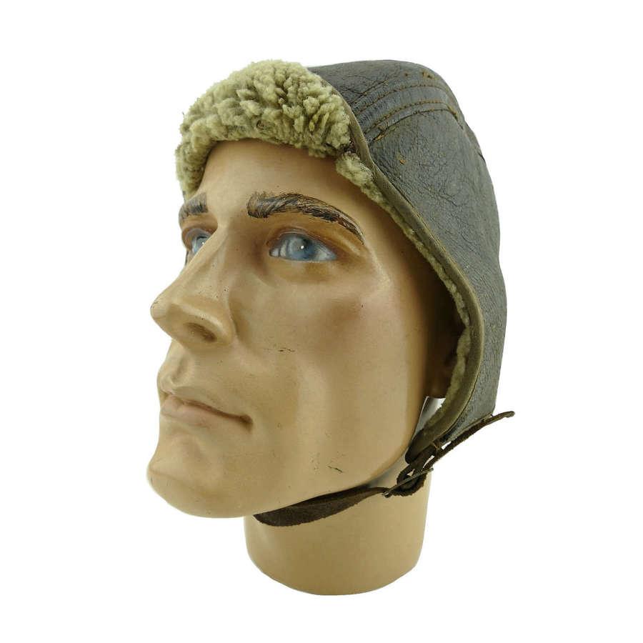 American flying helmet c.1920s/30s