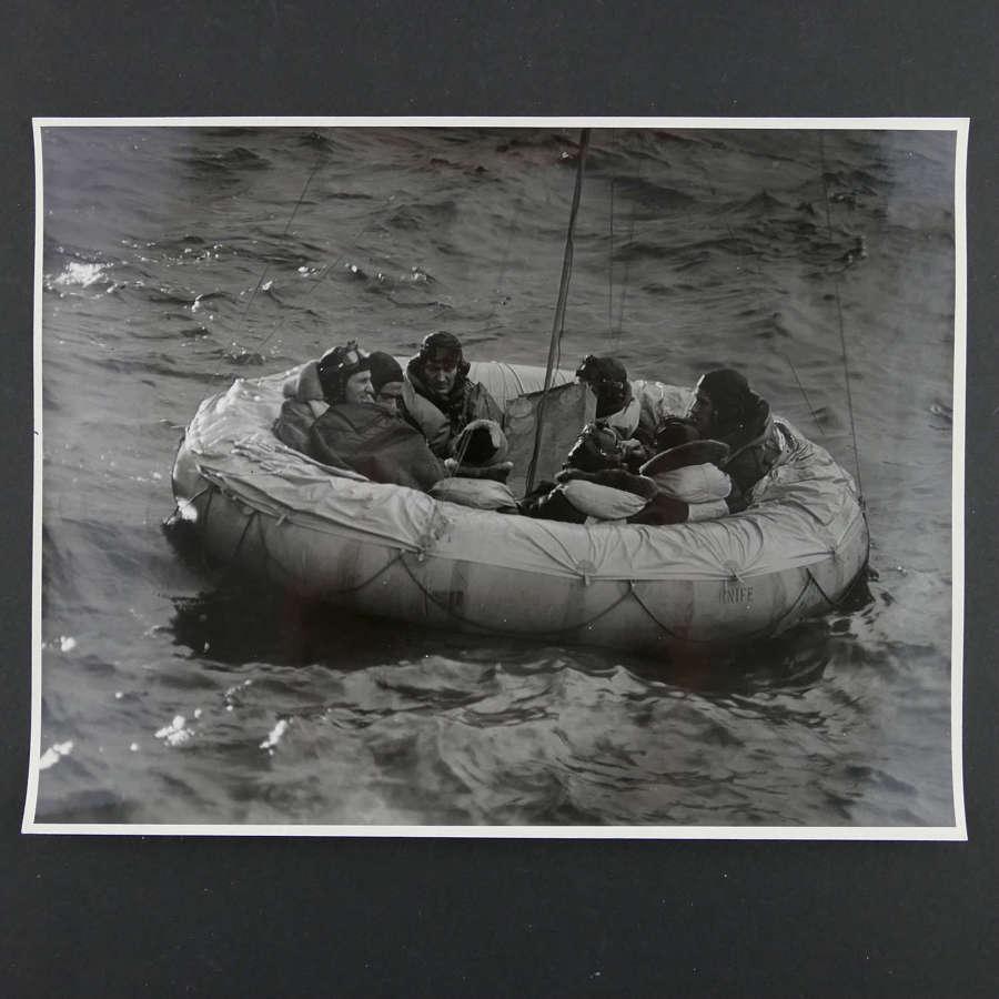 Press photo - RAF propaganda film