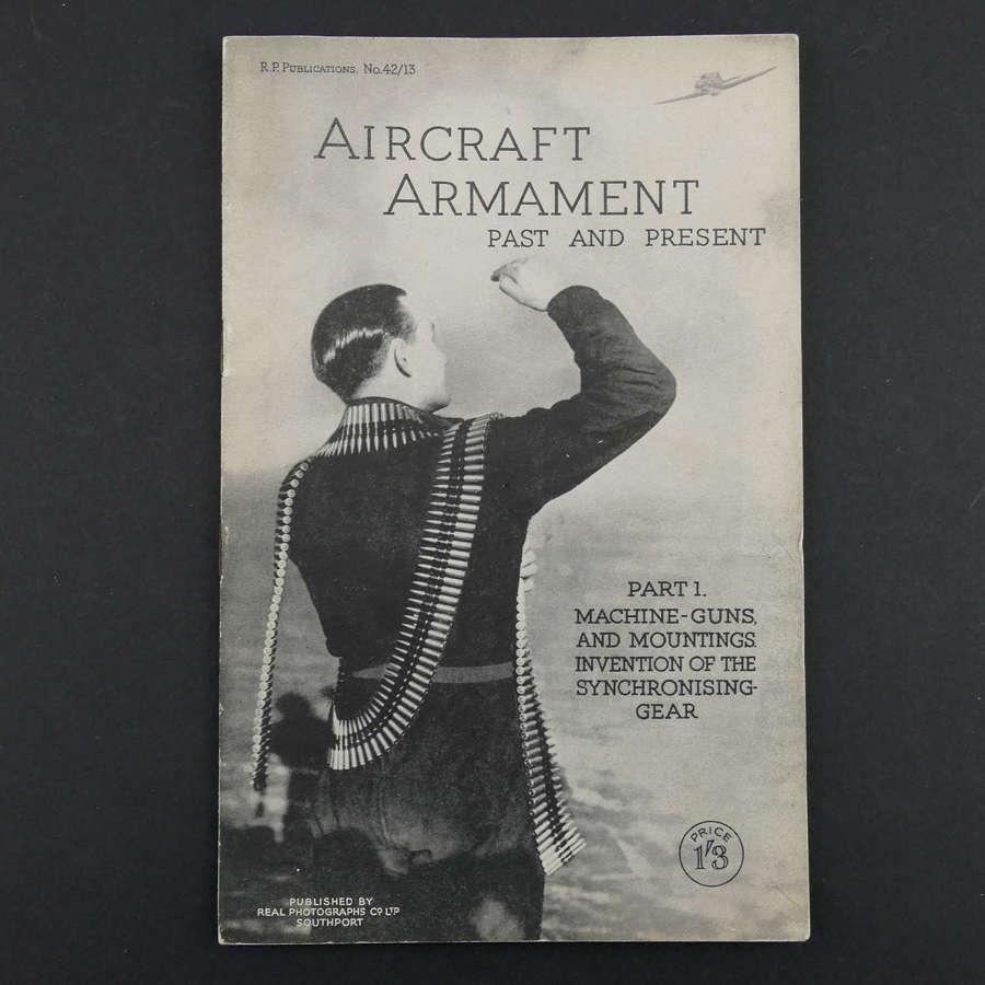Aircraft Armament Past And Present, Part 1