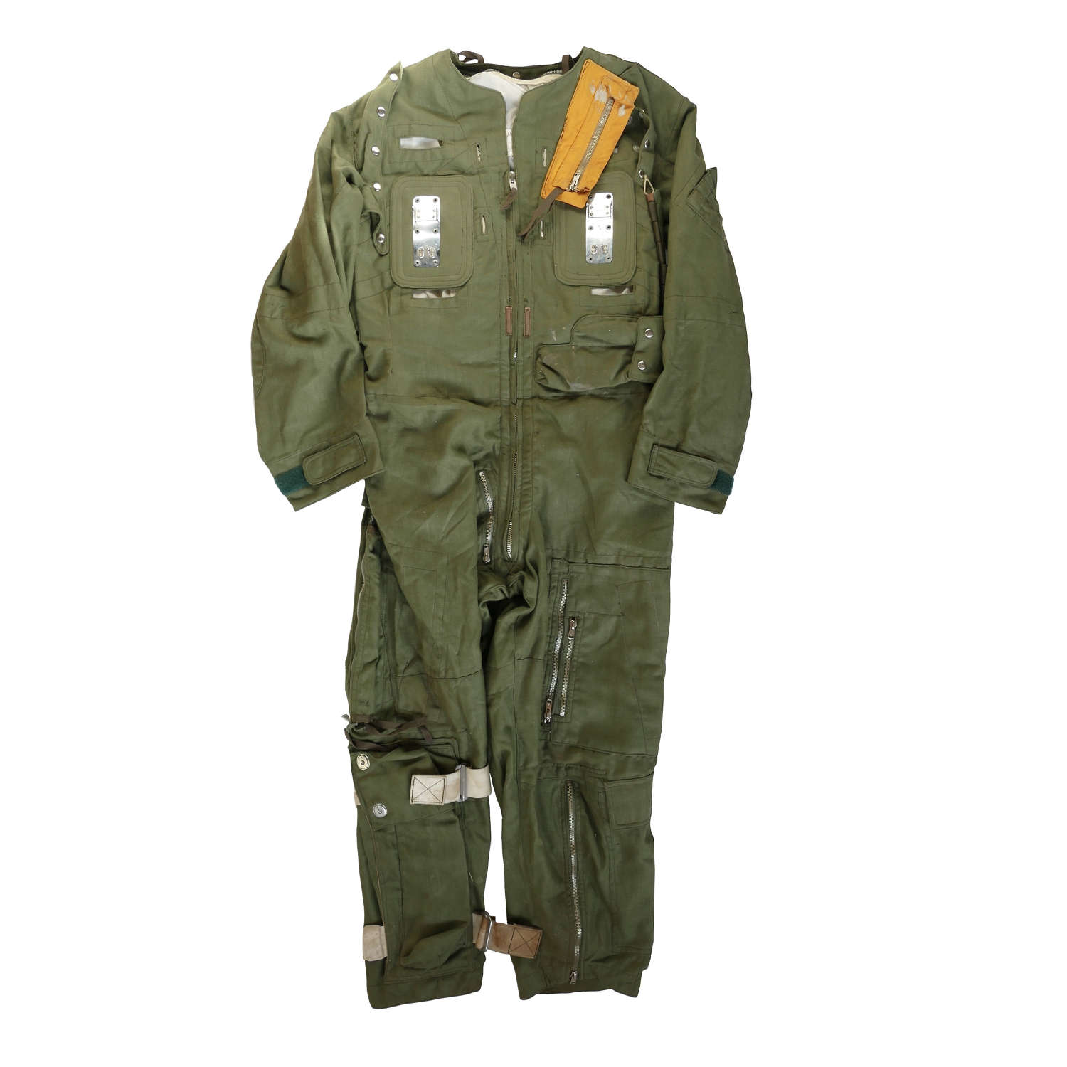 RAF flying suit, Mk.5 combined with harness Type D, Mk.3