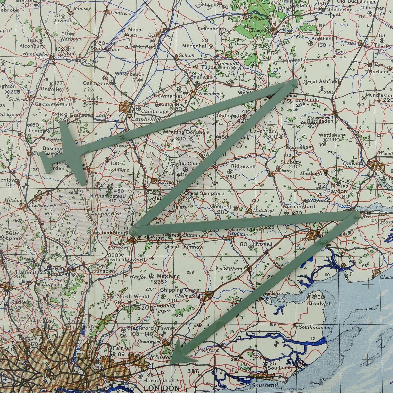 RAF / FAA operations room plotters