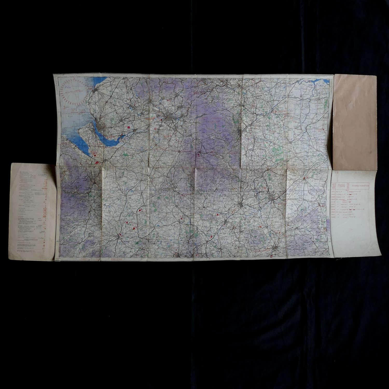 RAF flight map, Midlands (N)