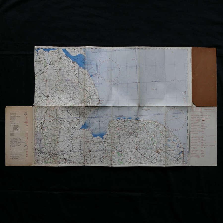 RAF flight map, Eastern Counties (N)