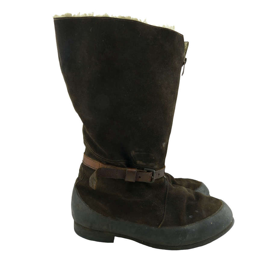 RAF 1941 pattern flying boots - history