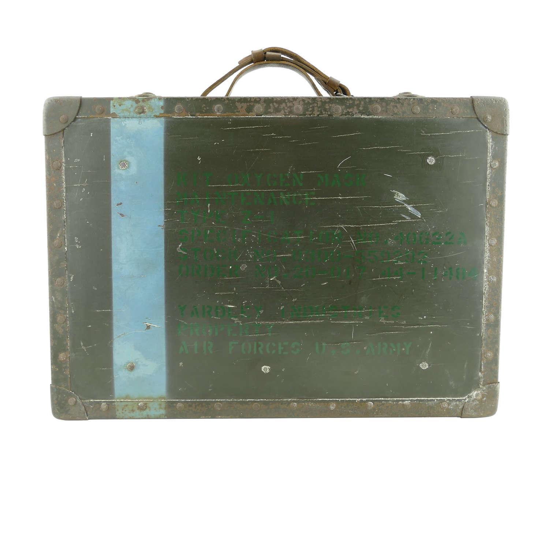 USAAF oxygen mask maintenance kit