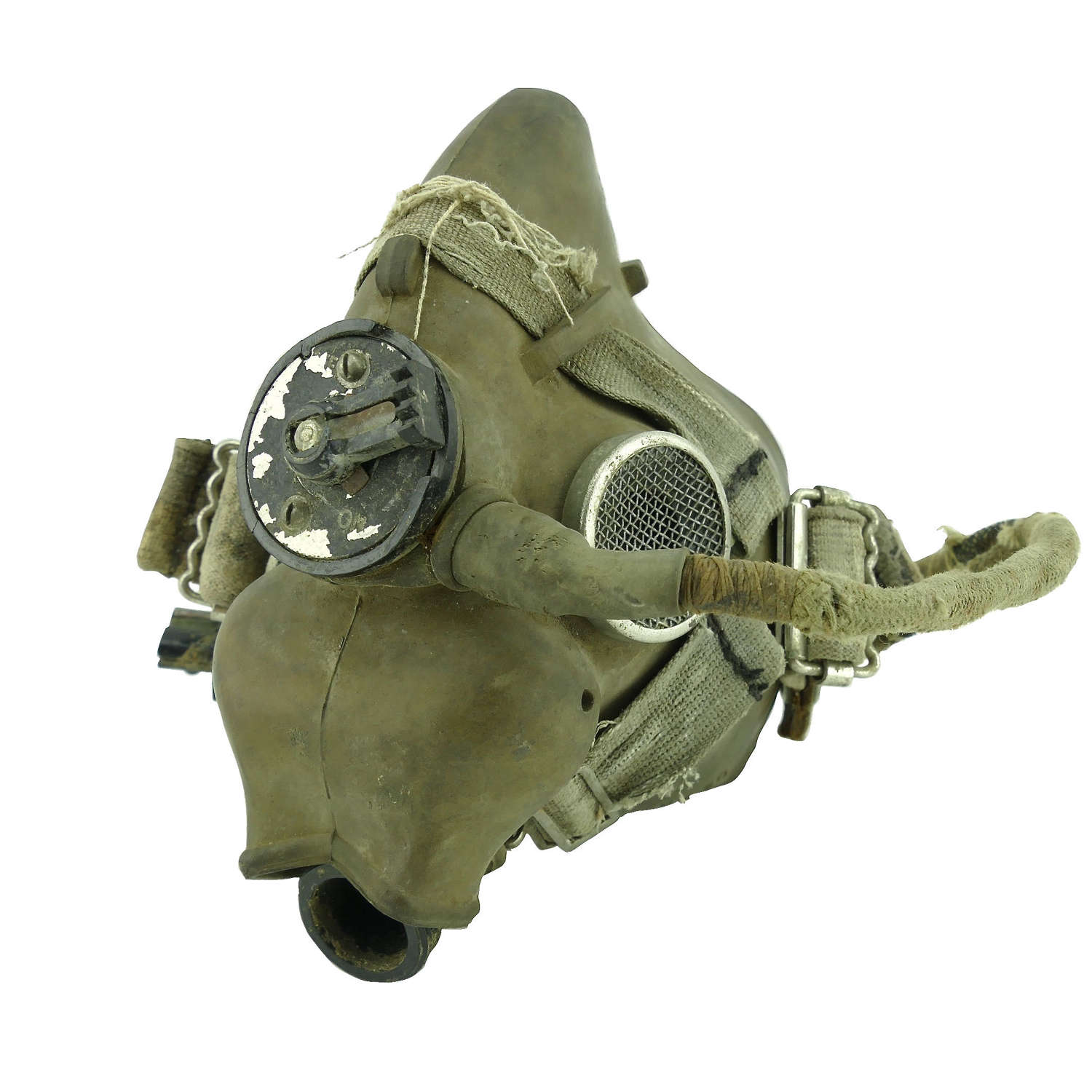 RAF type H oxygen mask, 1946 dated