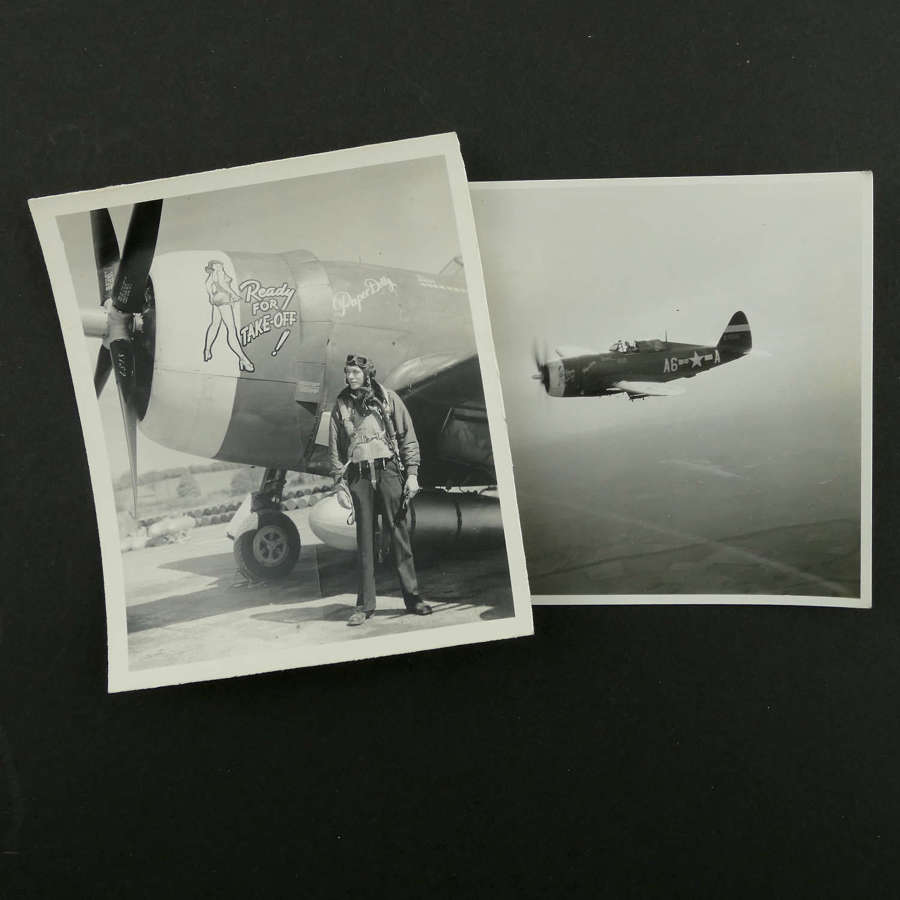 USAAF 9th AAF, 366th fighter group nose art photos - Paper Dolly