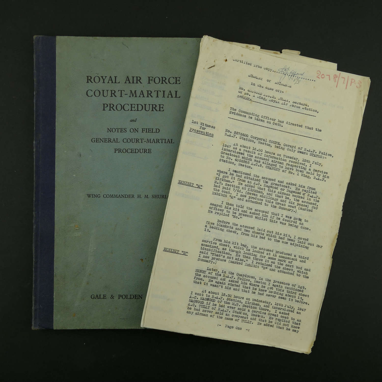 RAF Court-Marshall Procedure, 1941