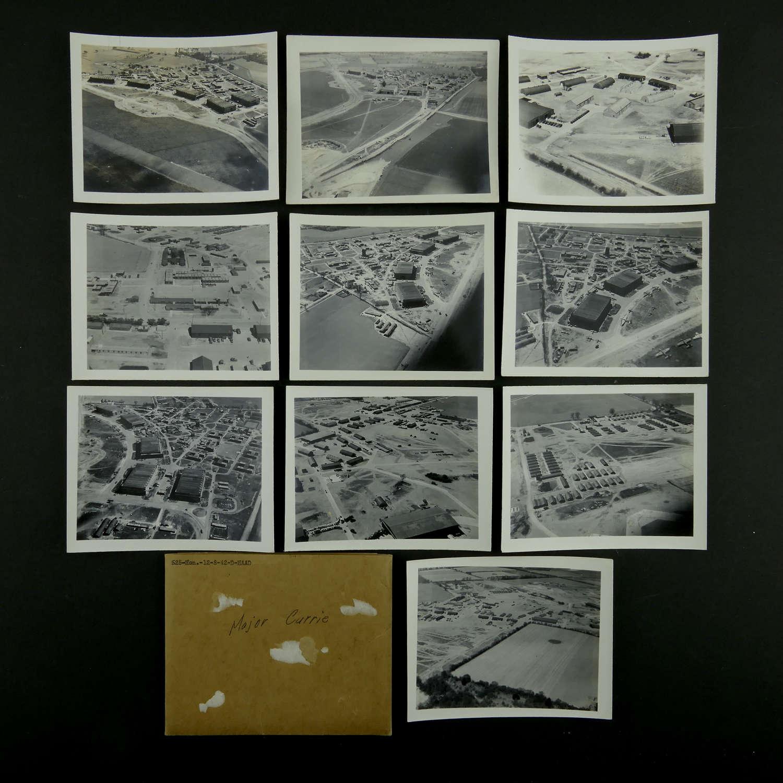 USAAF Aerial photos - 8th AAF airbase, England