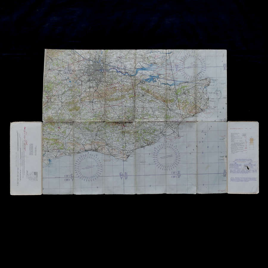RAF Flight map, England, S.E. & London