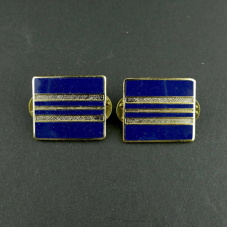 RAF Squadron Leader rank badges