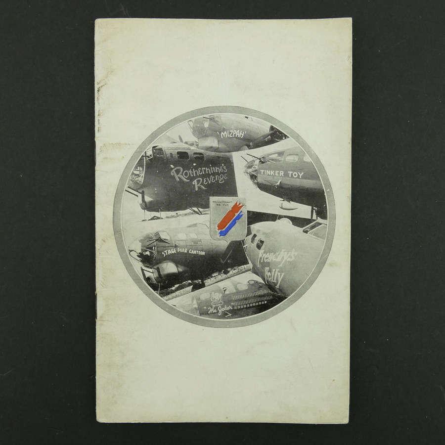 USAAF 381st Bomb Group unit history