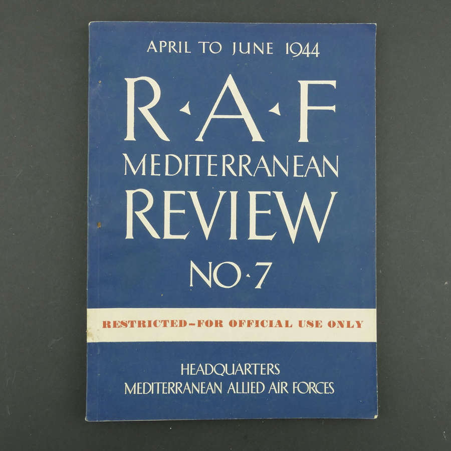 RAF Mediterranean review No.7, 1944