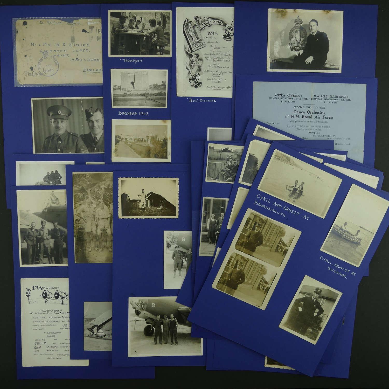 Photos relating to E. Kimsey, 454 RAAF Squadron