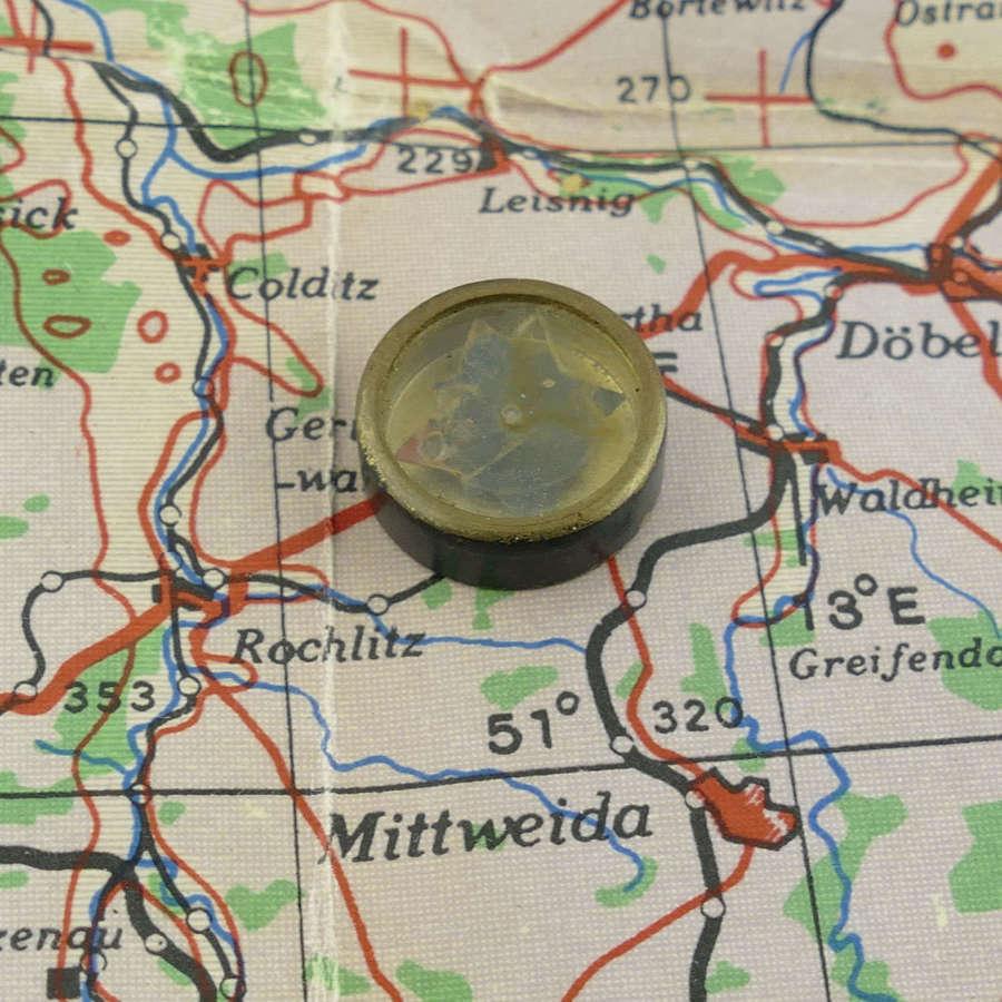 RAF / SOE escape and evasion compass