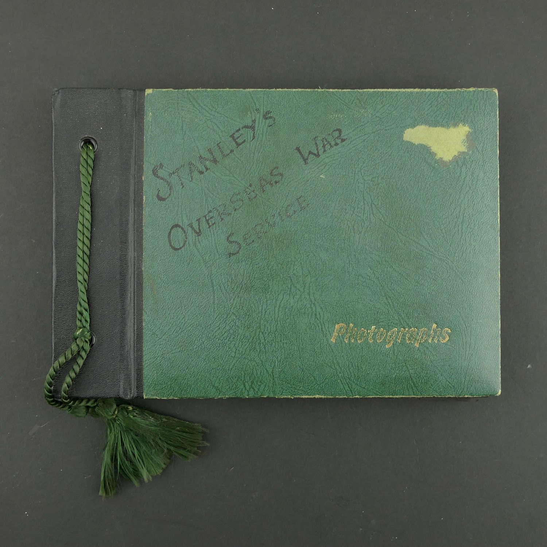 USAAF photograph album - Stanley's Overseas War Service
