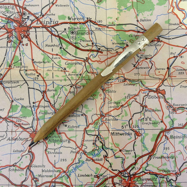 RAF / SOE escape and evasion pencil clip compass