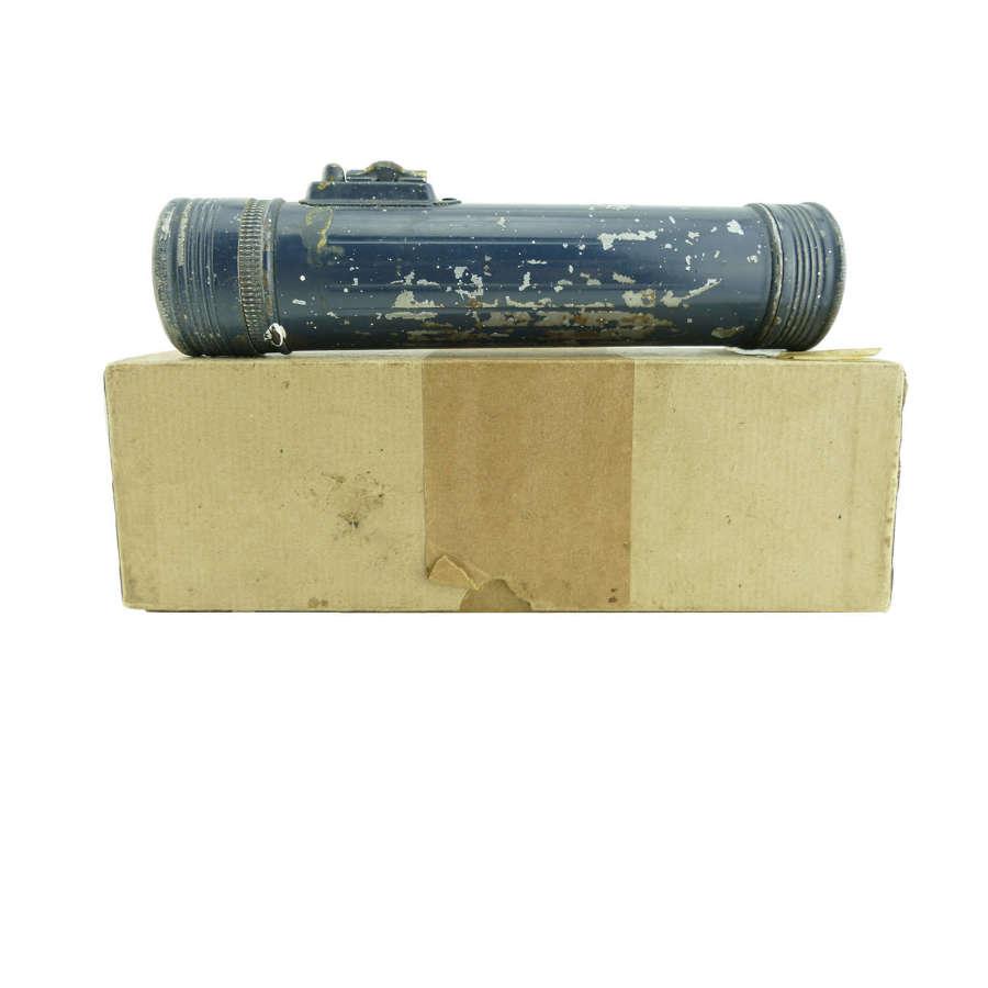 RAF aircrew torch, boxed