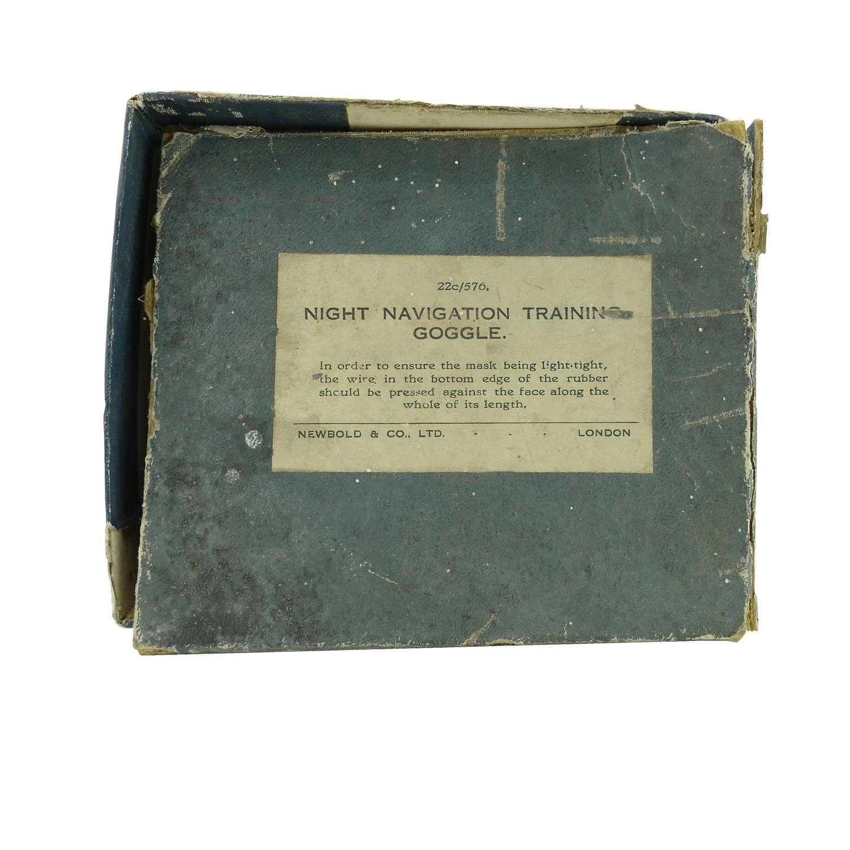 RAF Night navigation training goggle box