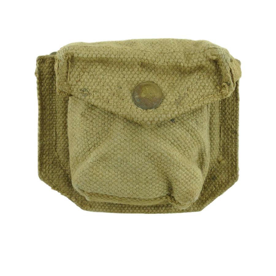 British Army 1937 pattern webbing ammo pouch