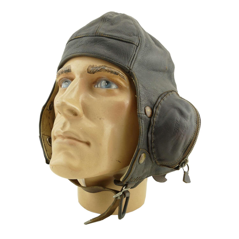 RAF B-type flying helmet