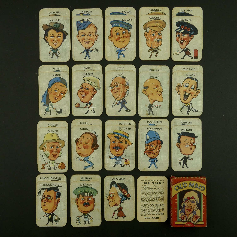 Wartime card game