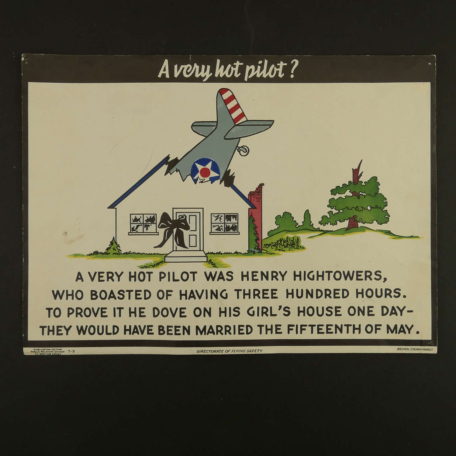 USAAF training poster