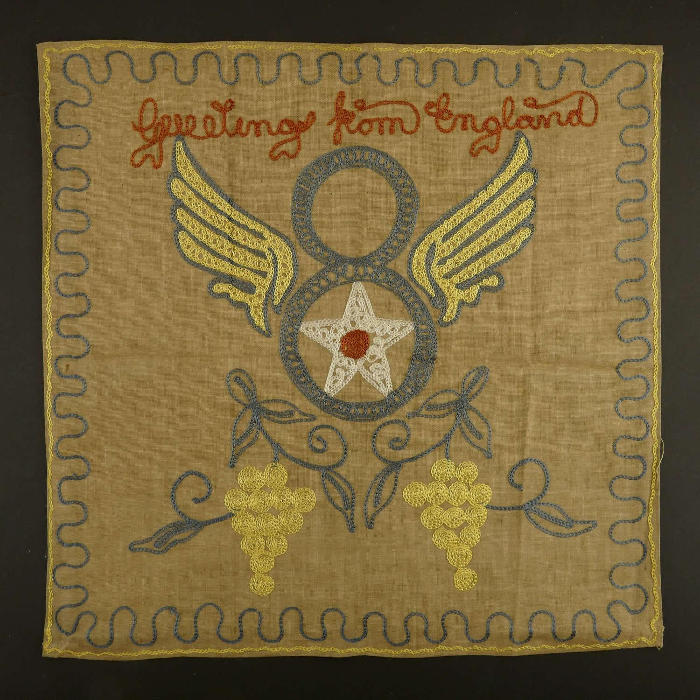USAAF 8th AAF embroidery