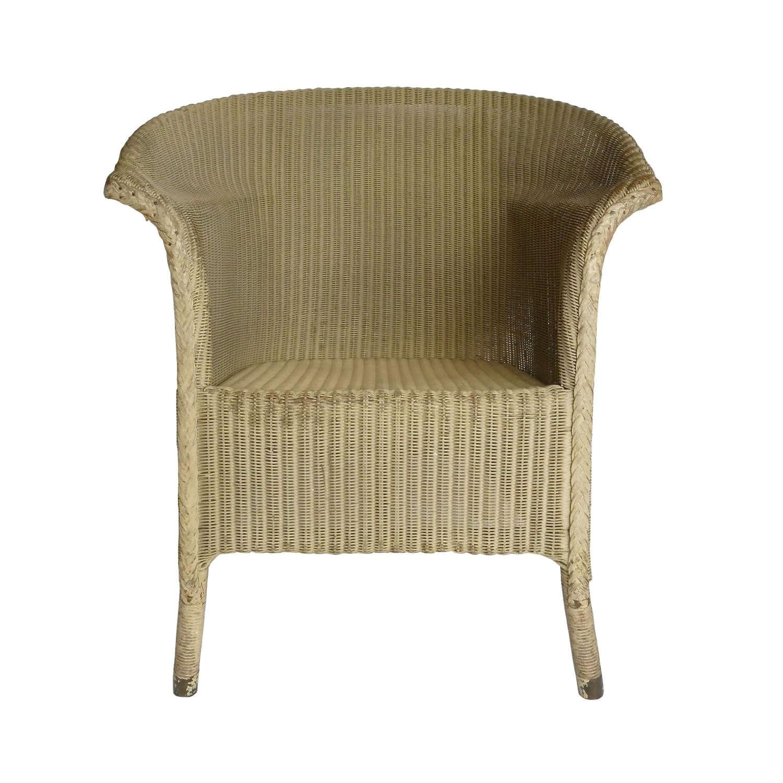 Air Ministry Lloyd Loom dispersal chair