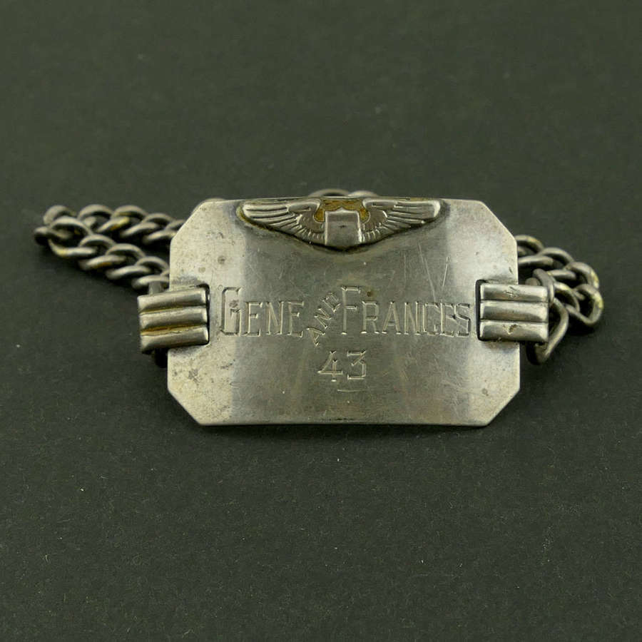 USAAF bracelet, 1943
