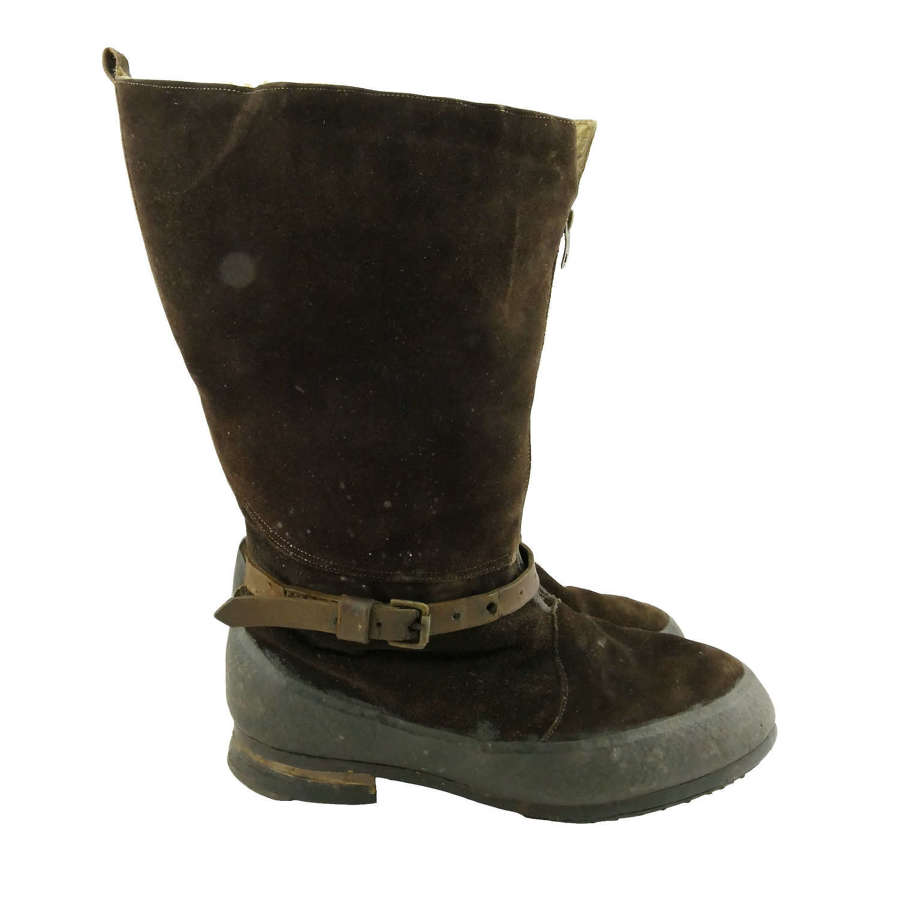 RAF 1941 pattern flying boots, S9