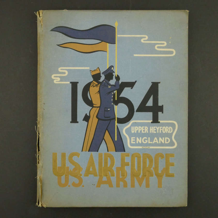 USAF Upper Heyford, England, 1954 yearbook