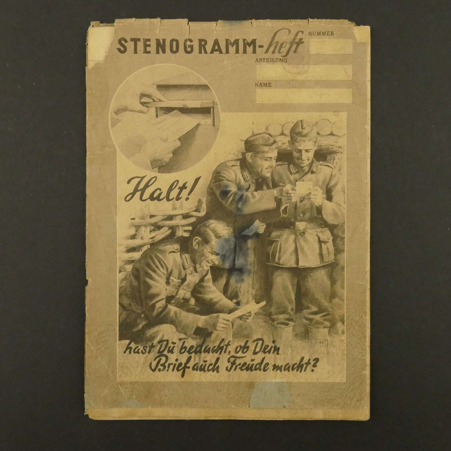 German Forces shorthand pad