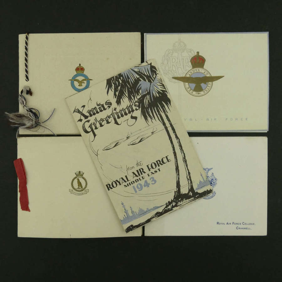 Assorted Christmas Cards, WW2 & later