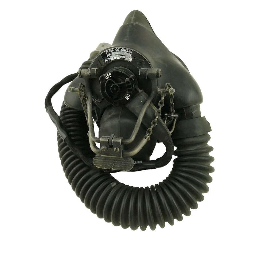RAF type Q oxygen mask/tube