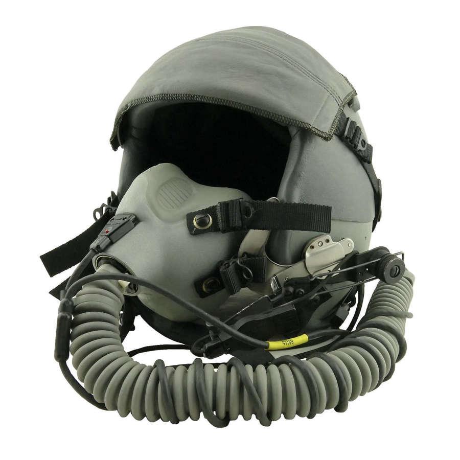 USAF HGU-55/P flying helmet & MBU-12/P oxygen mask