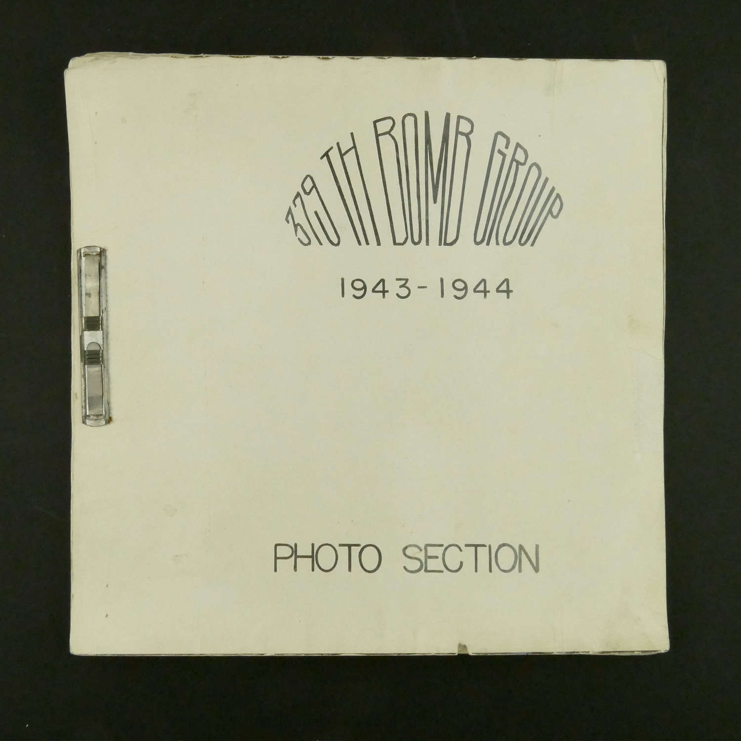 USAAF 379th Bomb Group Photo Section book