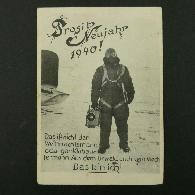 German postcard, 1940