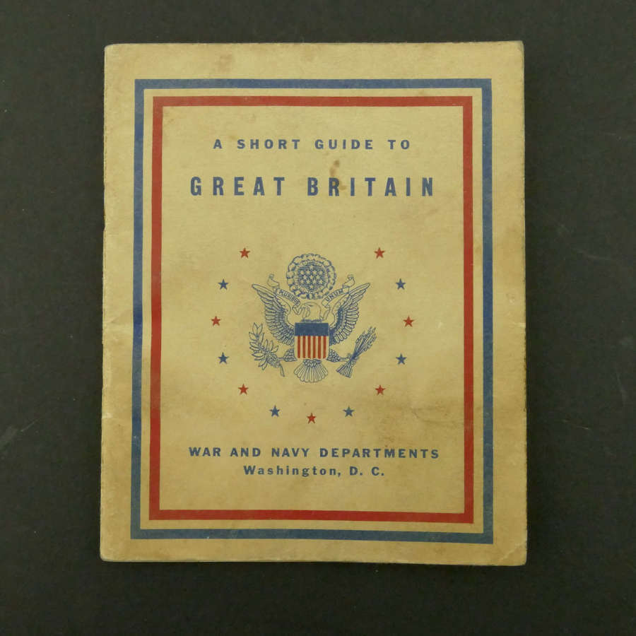 WW2 US Guide To Great Britain