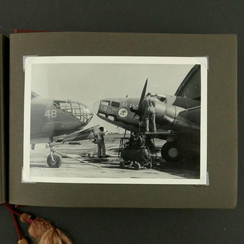 USAAF photo album - nose art content