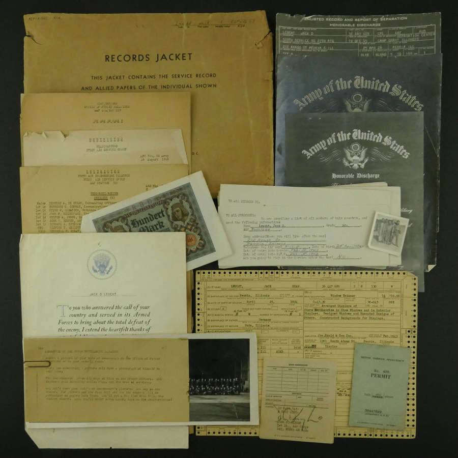 USAAF 9th AAF Service Records, 808 Air Engineering Squadron, UK